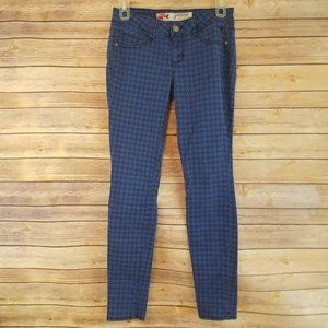 Grane Juniors Jeans Hounds Tooth Print